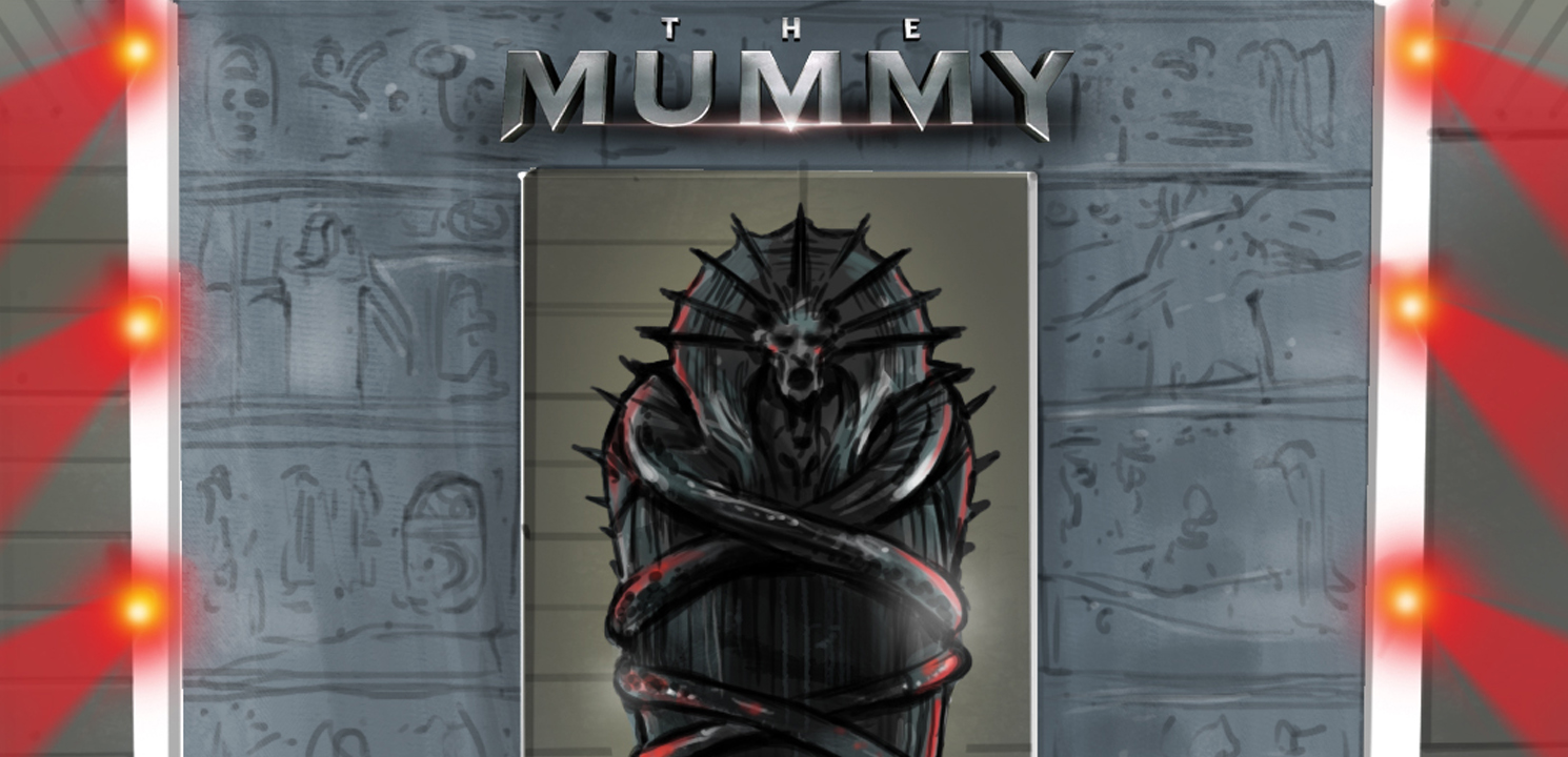 Storyboard « THE MUMMY »-Universal productions